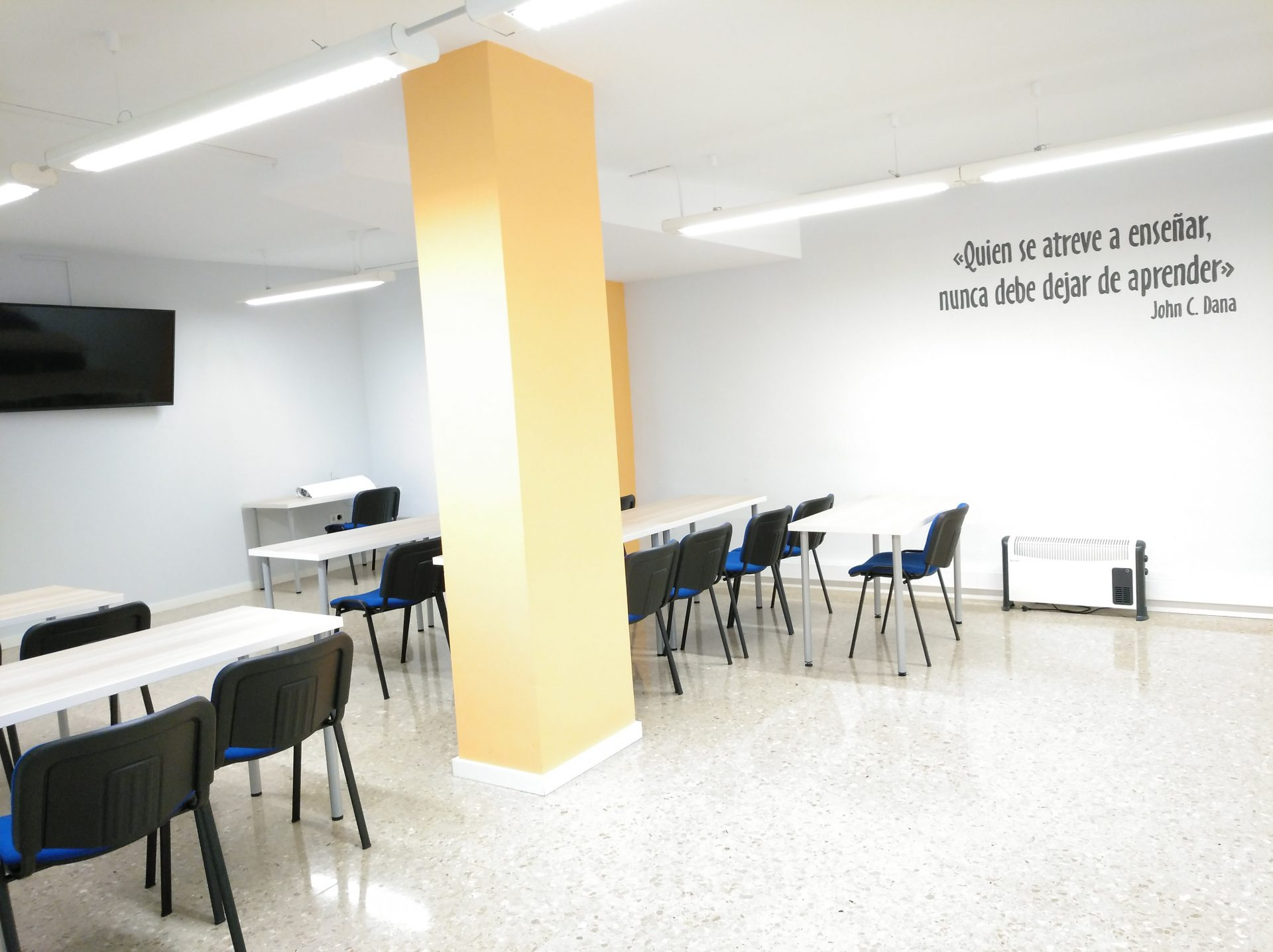 Alquiler de Aulas jornada completa en Barcelona